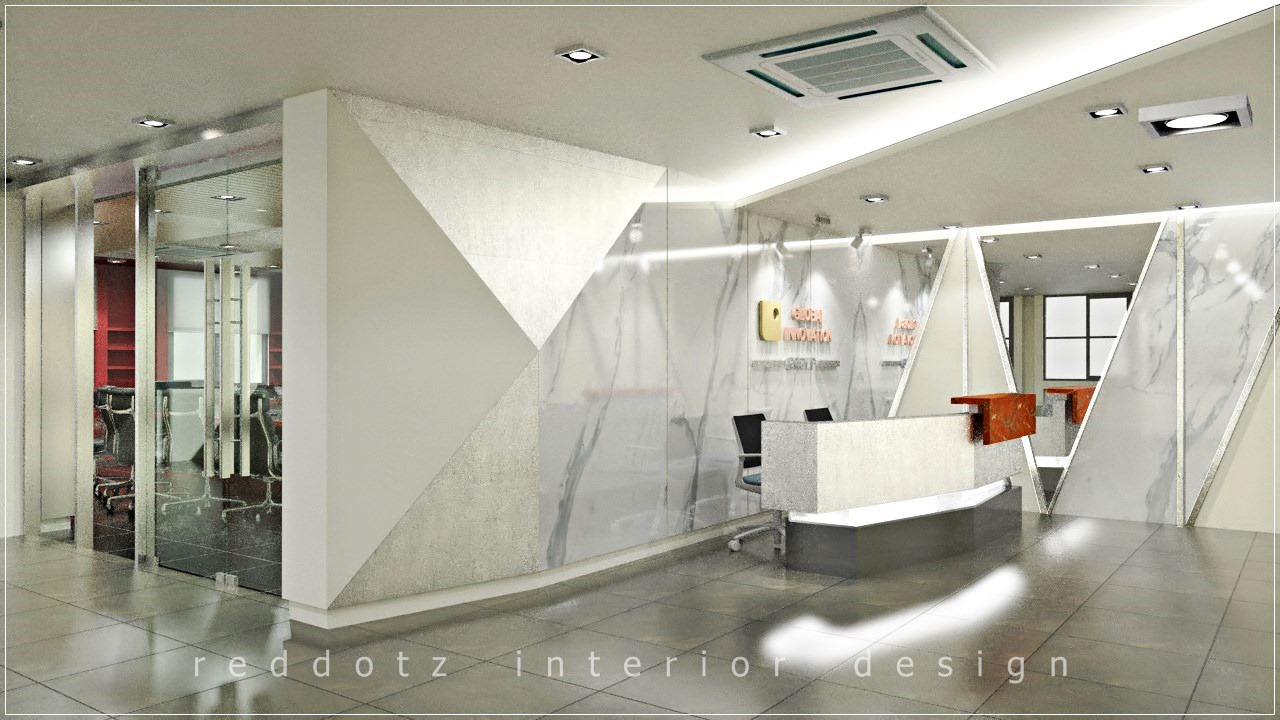 Mont Kiara Office Reception Area Design Concept