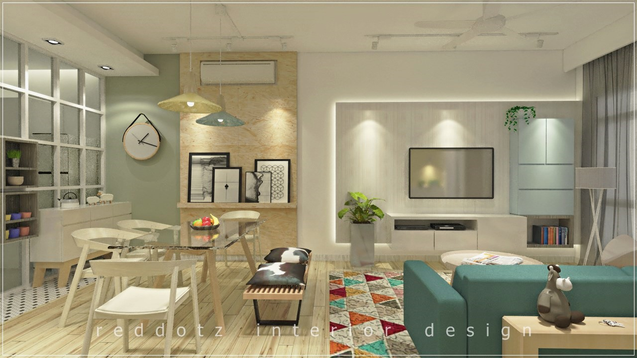 Rawang Residence Living Area Design