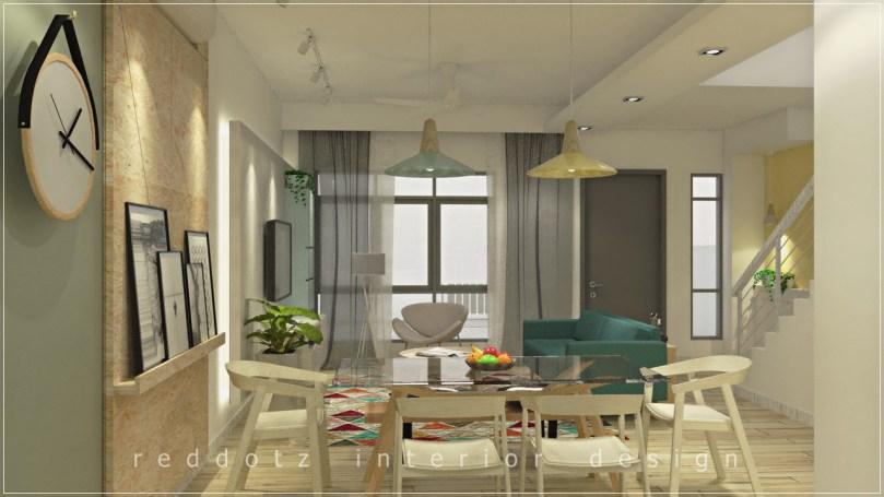 Rawang Residence Dining Area Design