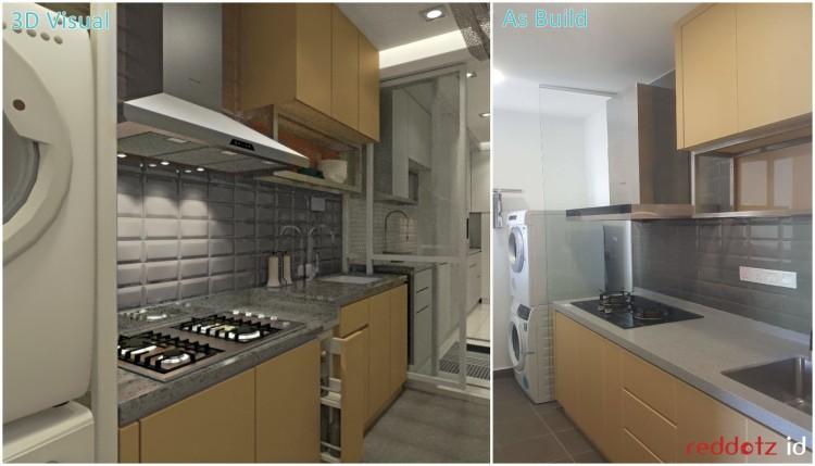 Kitchen Design Before After Kuala Lumpur