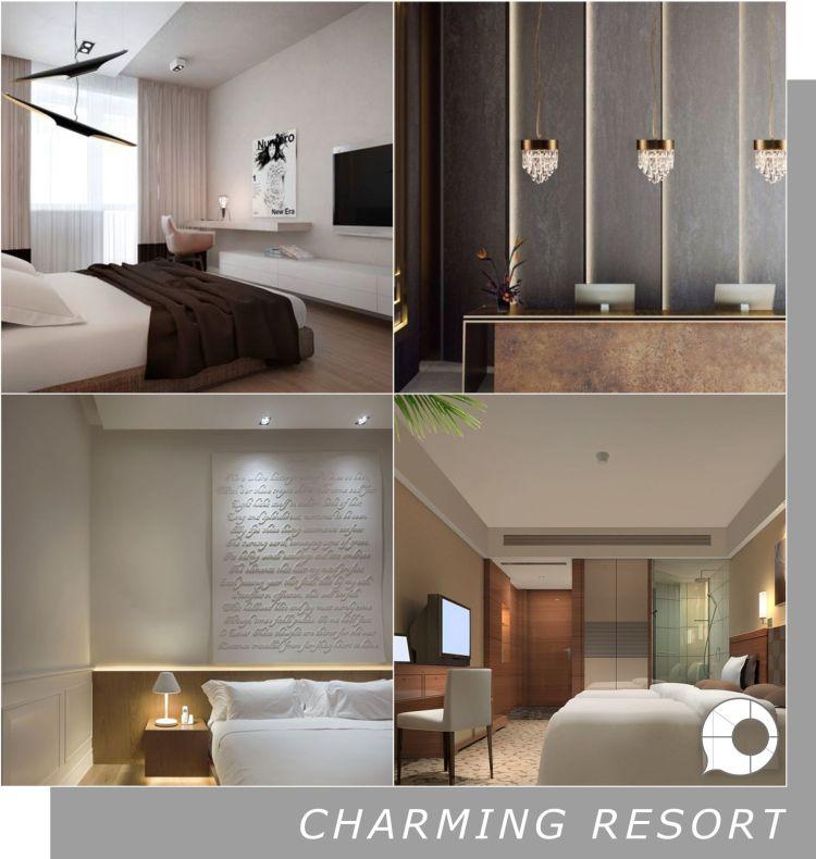 charming resort interior design theme
