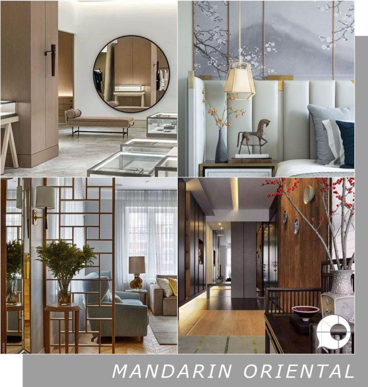mandarin oriental interior design theme