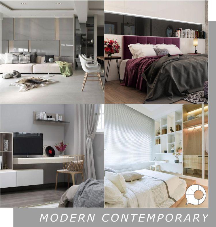 modern contemporary interior design theme