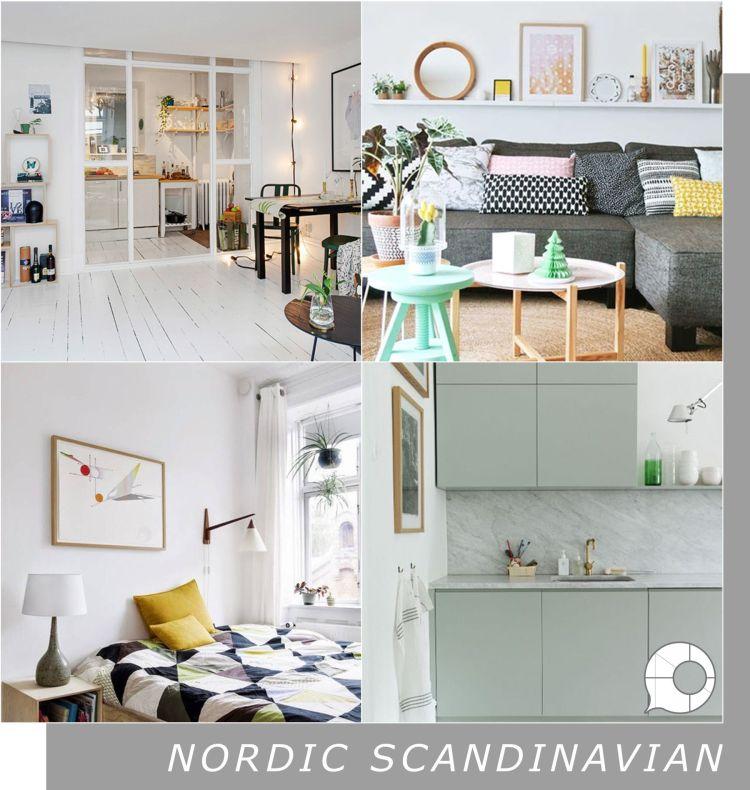 nordic scandinavian interior design theme