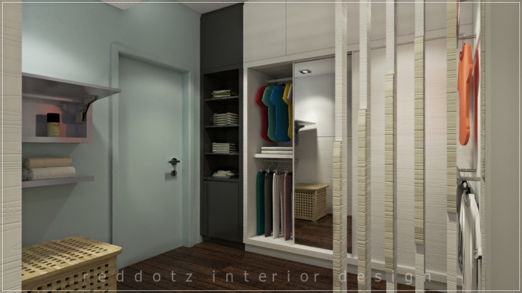 19 Residence Walk In Wardrobe