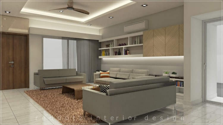 Guest Living Design 3D Malaysia